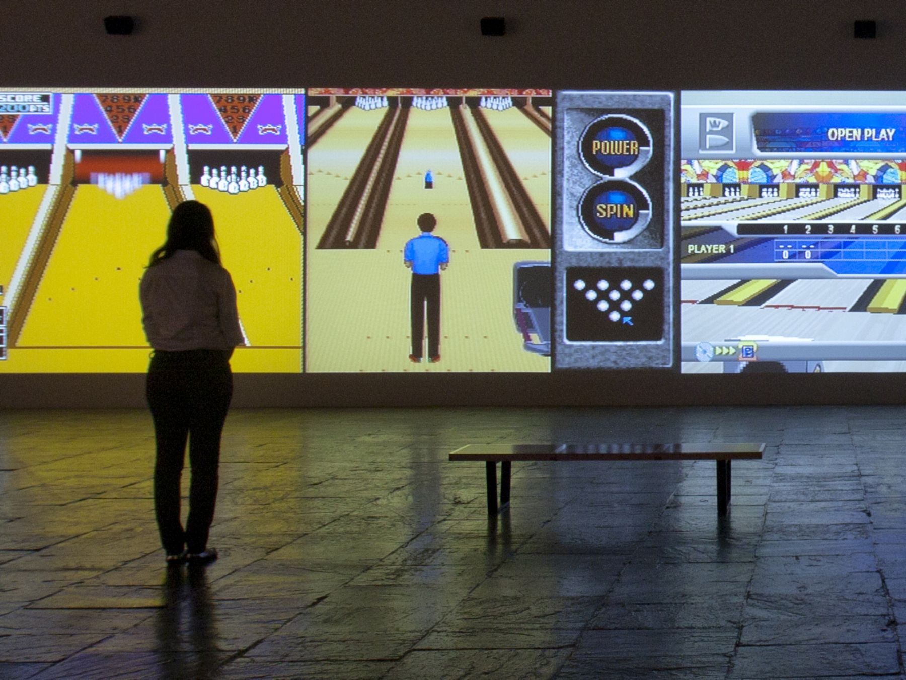 Cory Arcangel, Installation view,Pro Tools, Whitney Museum of American, New York, 2011