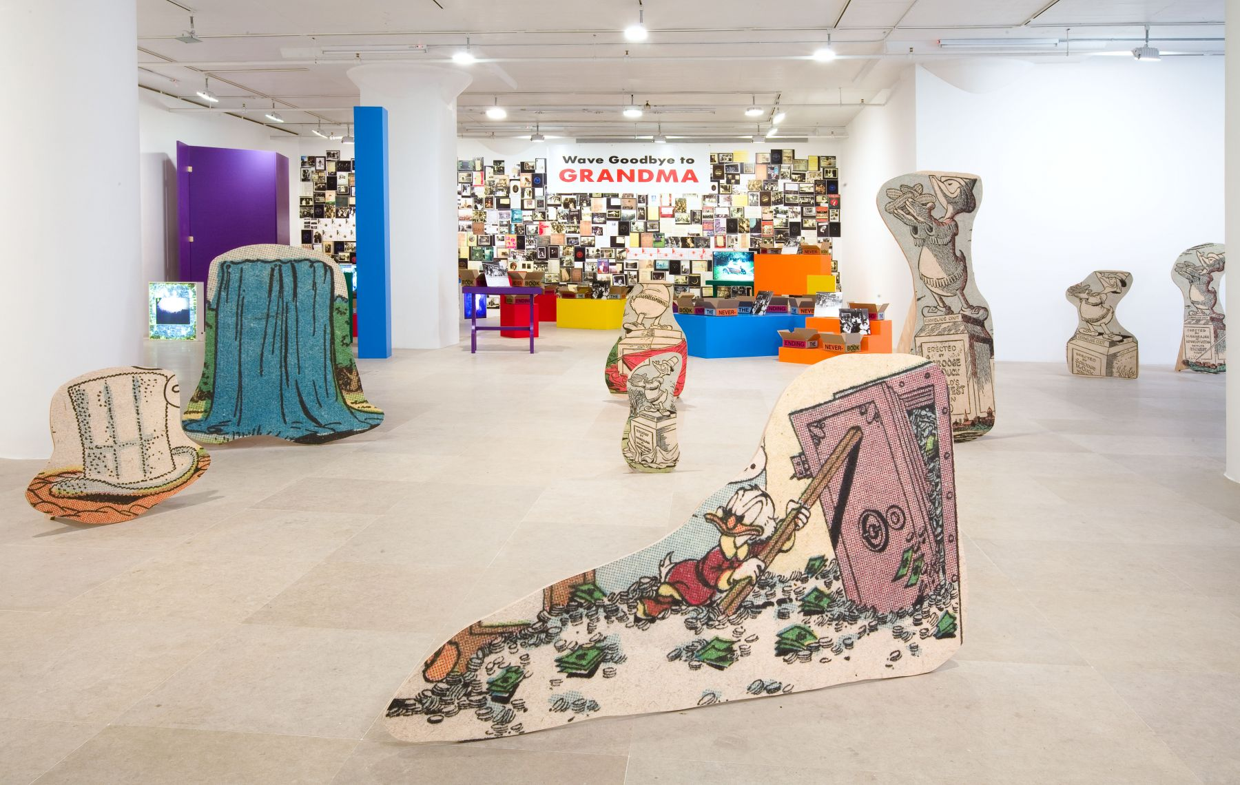 Installation view, Greene Naftali, New York, 2010