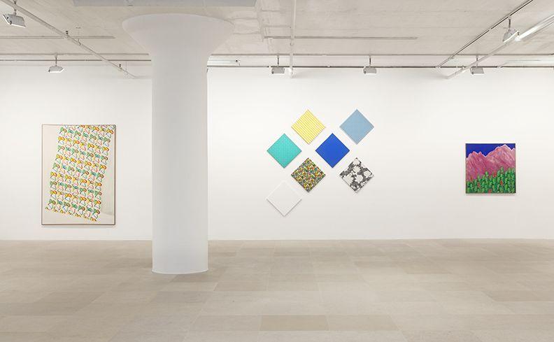 Konrad Lueg, Installation view, Greene Naftali, New York, 2013