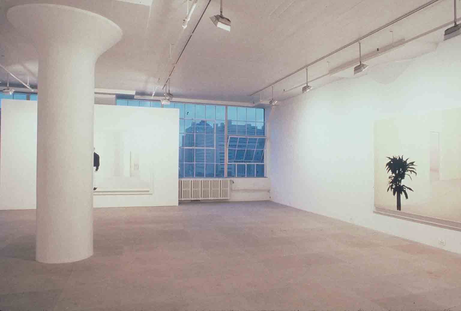 Installation view, MODEL,  Greene Naftali, New York, 1996
