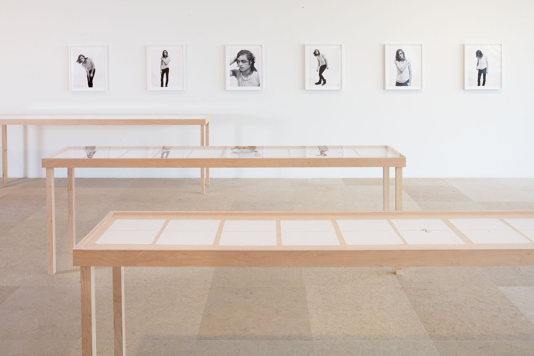 Installation view, The Complete Poem, Greene Naftali, New York, 2009