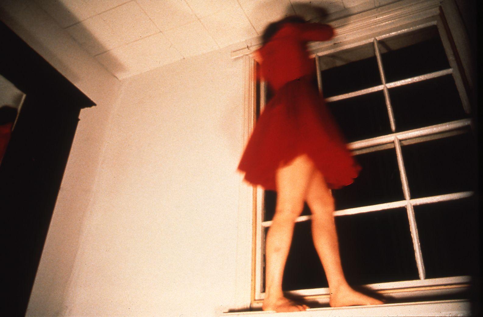 Climbing Around My Room, 1995 (still), VHS video, 8:00 mins