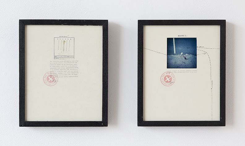 Candy Jernigan The New York Collections, Figure 1 and 2,1986