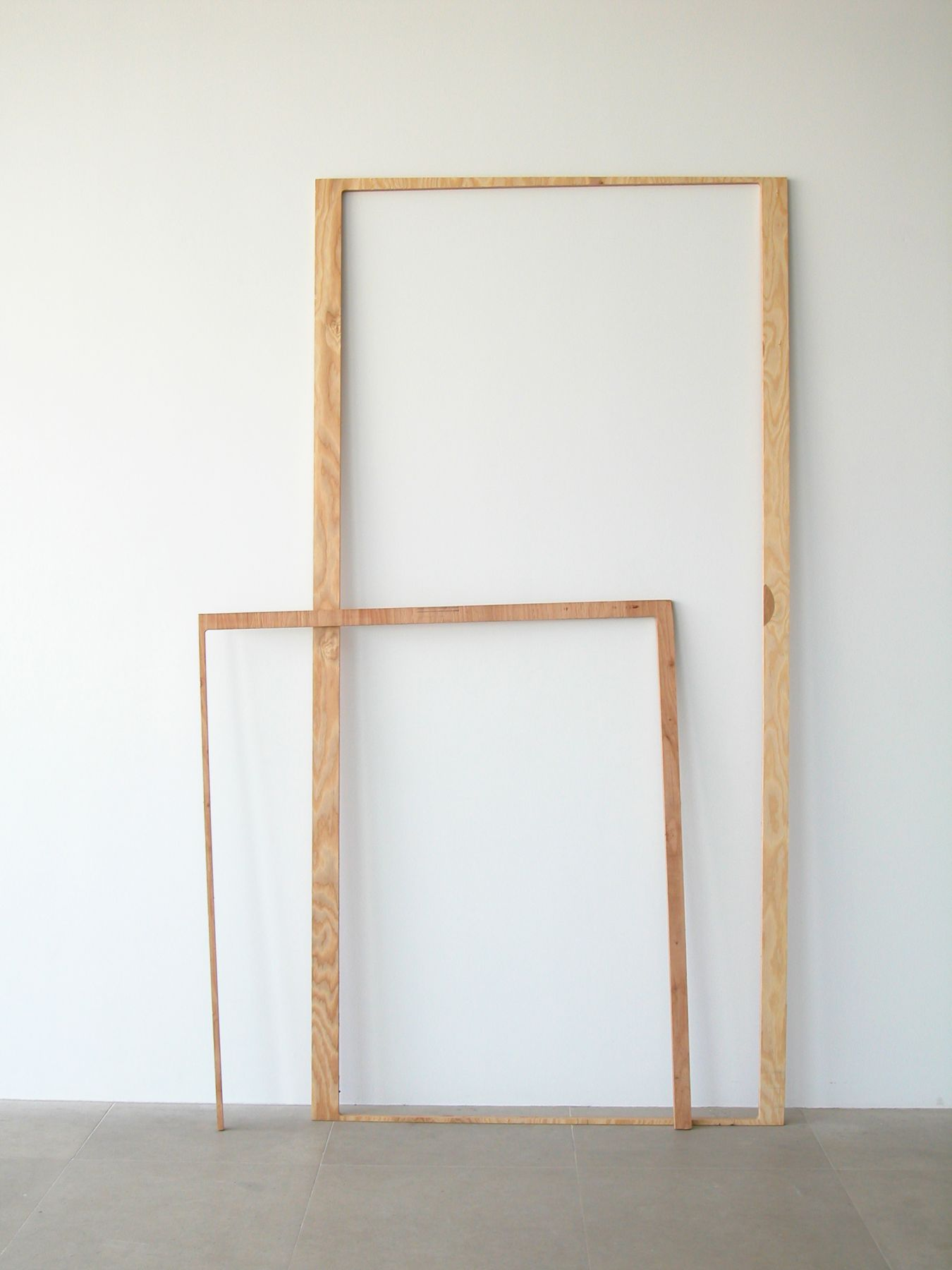 Side Show, Side Show, 2008, Wood, 95 x 59.5 x 8 inches