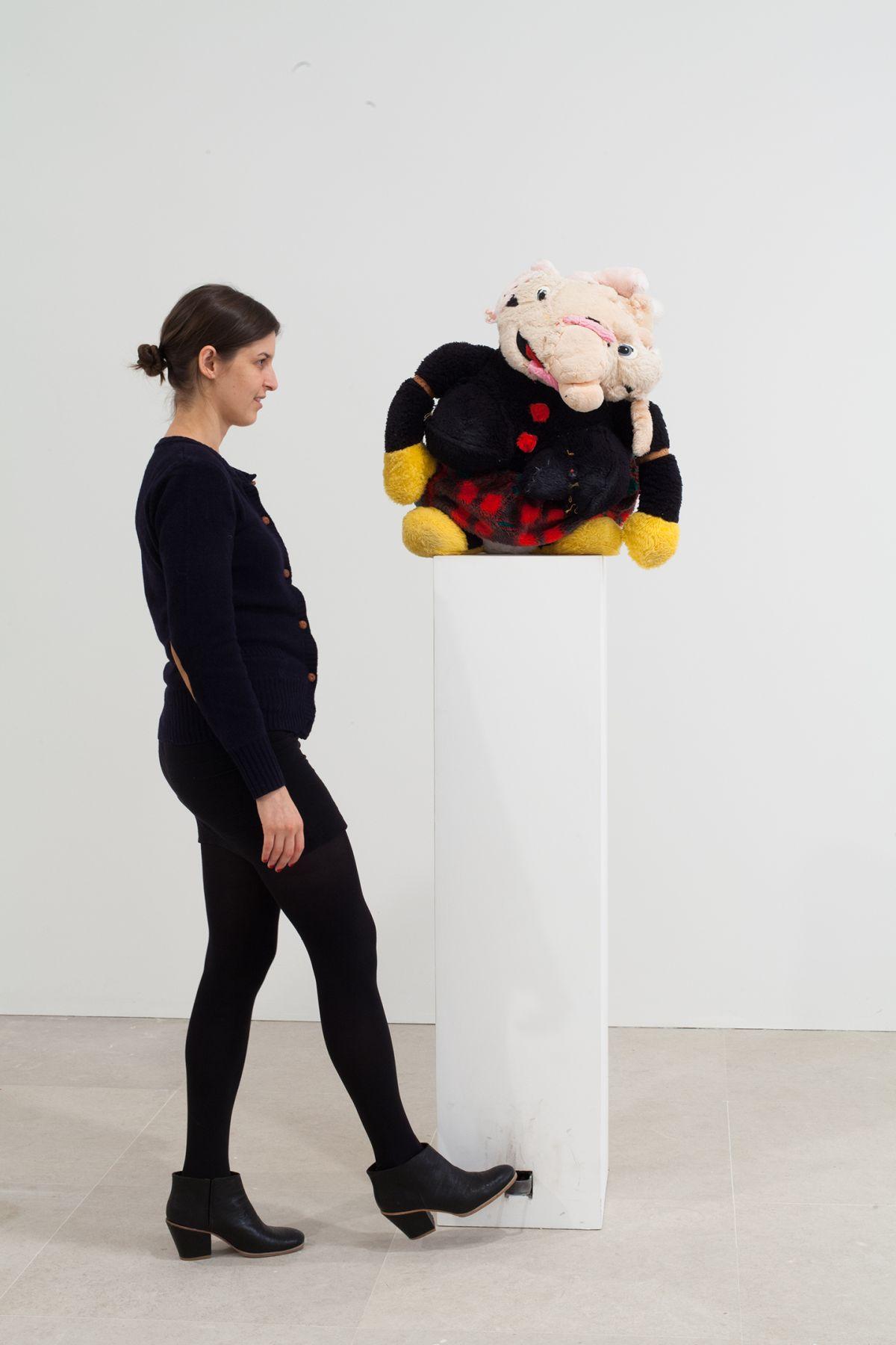 Gelitin, Emma, 2012, Mixed media, 70 x 19 1/2 x 16 1/2 inches