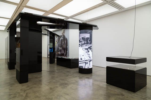 Bernadette Corporation, installation view, Bernadette Corporation: 2000 Wasted Years, ICA, London, 2013