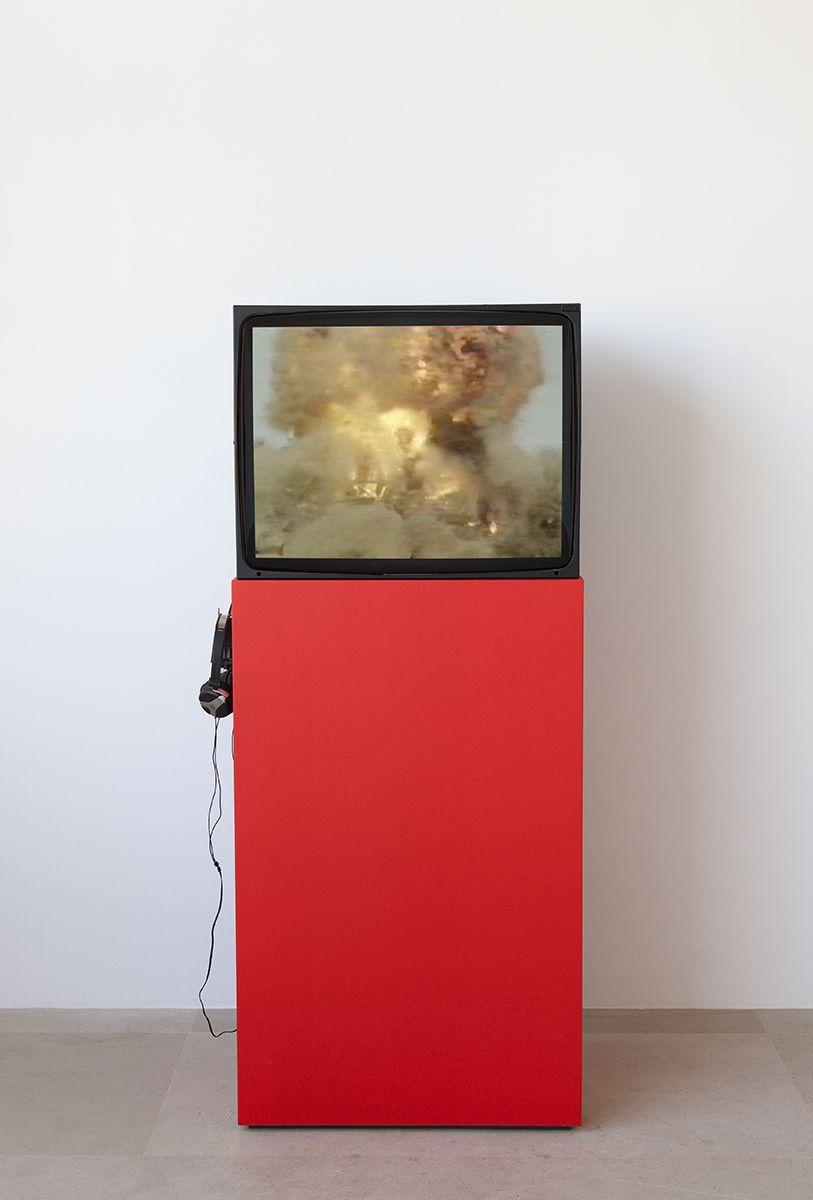 Tony Cokes  Black September (Evil.2/3), 2003  Color Stereo  2:08 minutes