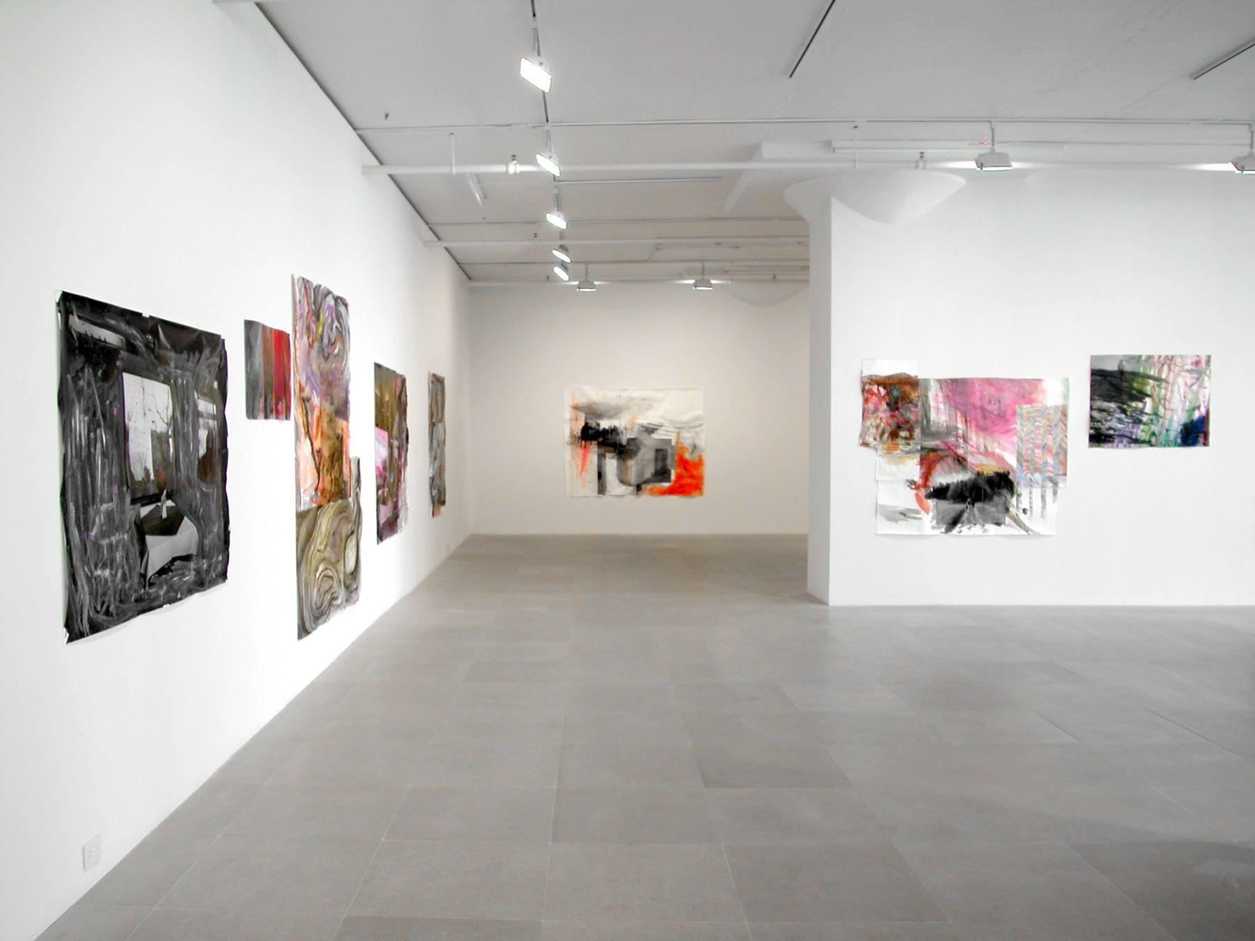 Installation view, Greene Naftali, New York, 2007
