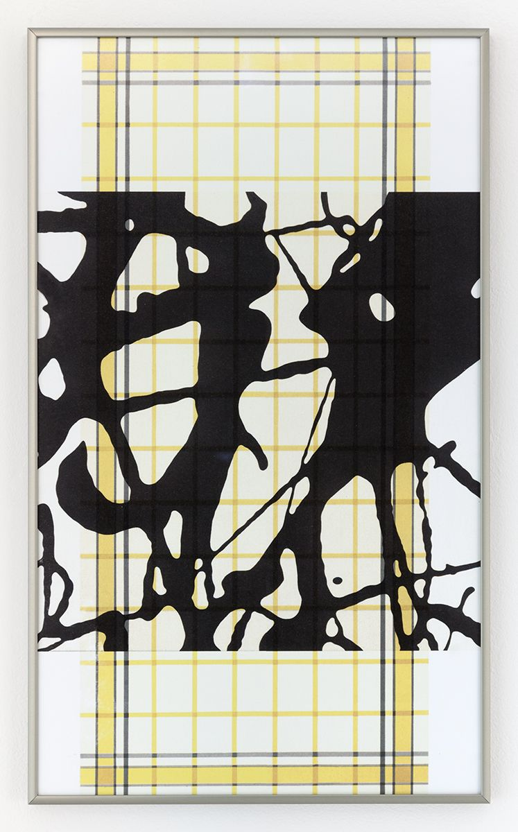 Daan van Golden, Study Pollock/Yellow Square, 2012