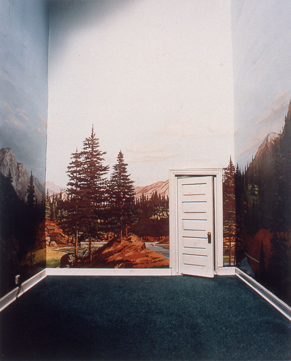 Julie Becker  The Same Room (Blue Room), 1993/96  C-print  36 x 30 inches (91.4 x 76.2 cm)