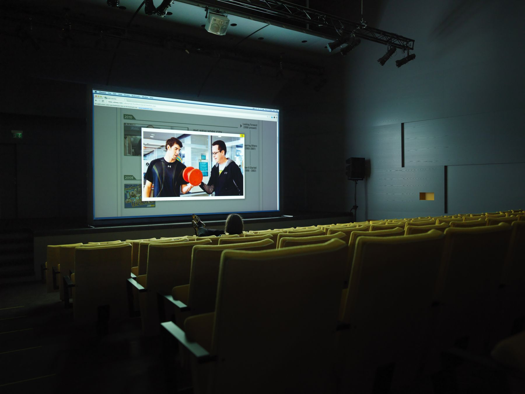 Cory Arcangel, Installation view,All The Small Things, Herning Museum of Contemporary Art, Herning, 2014