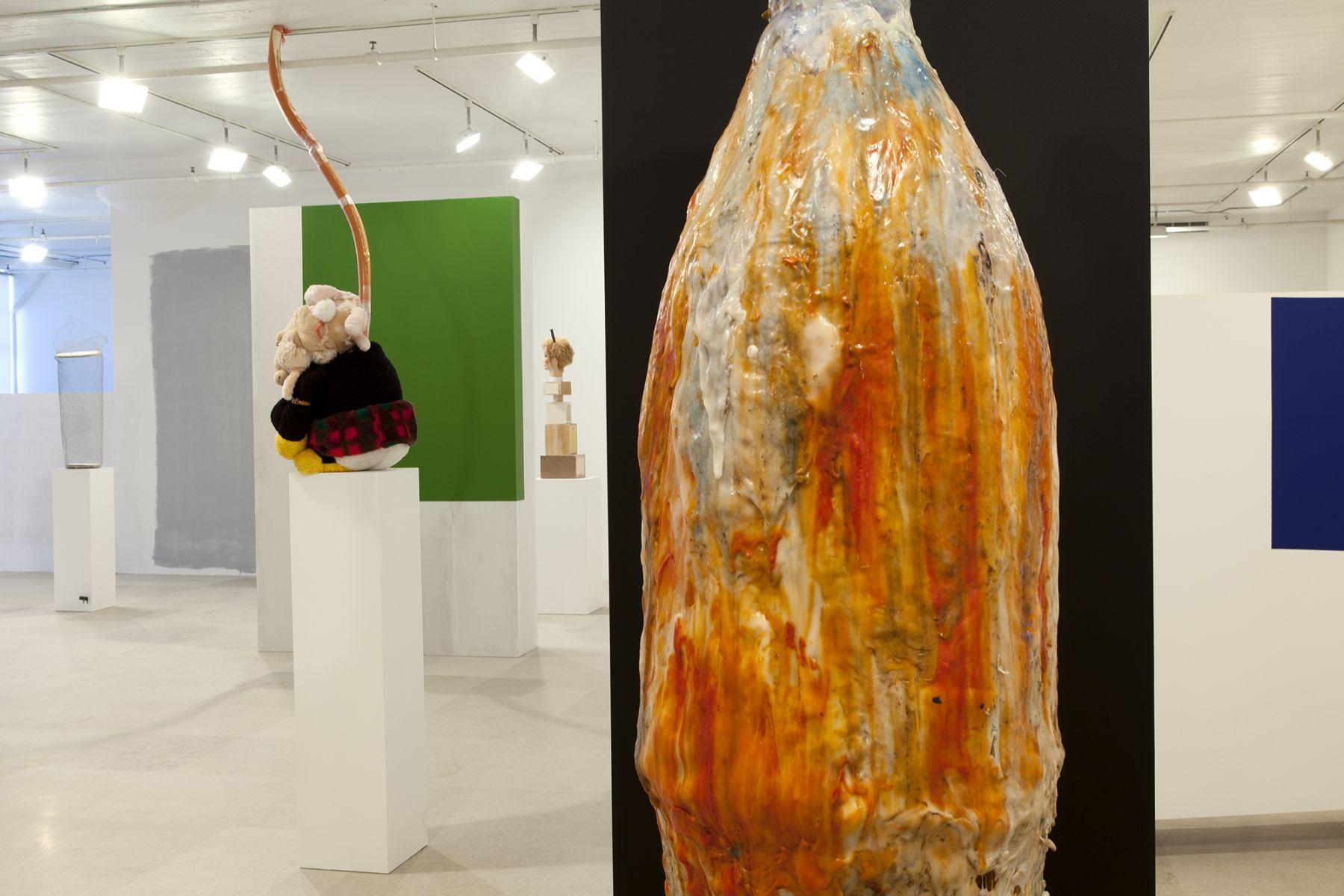 Gelitin, Installation view, The Fall Show, Greene Naftali, New York, 2012