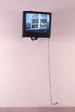 Installation view, Intermediate II (detail), Greene Naftali, New York, 2001