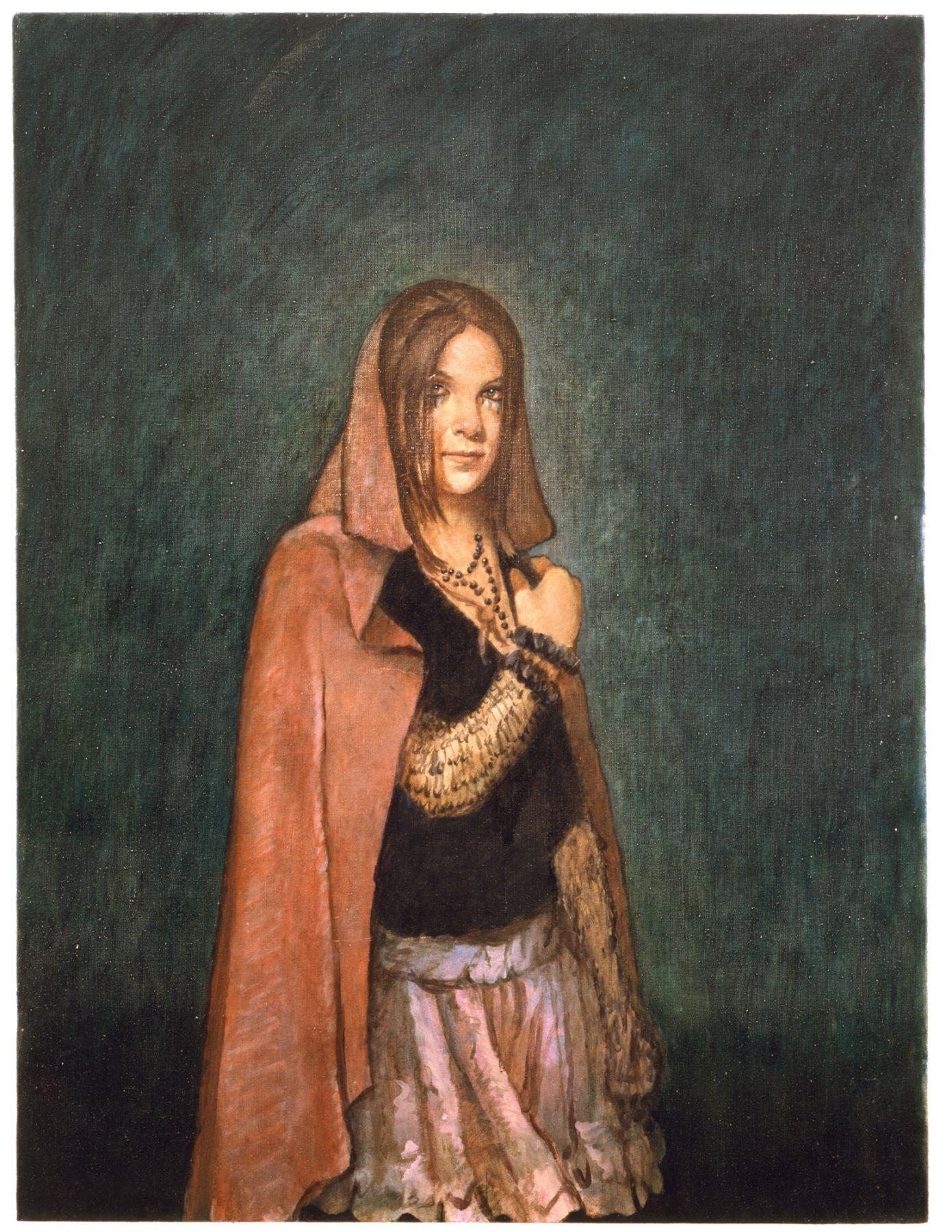 Margaret Burr, 2006, Oil on linen, 39.75 x 29.75 inches