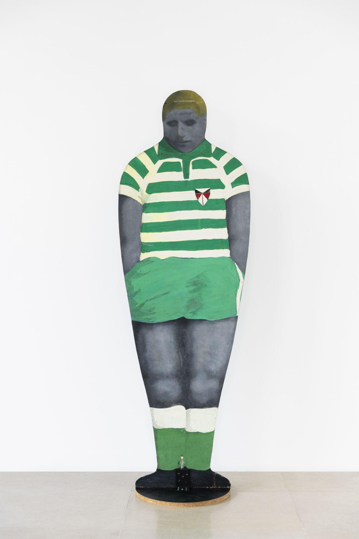 Konrad Lueg Untitled (Football player), 1964