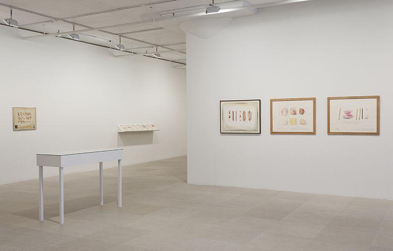 Candy Jernigan, Installation view, Greene Naftali, New York, 2014