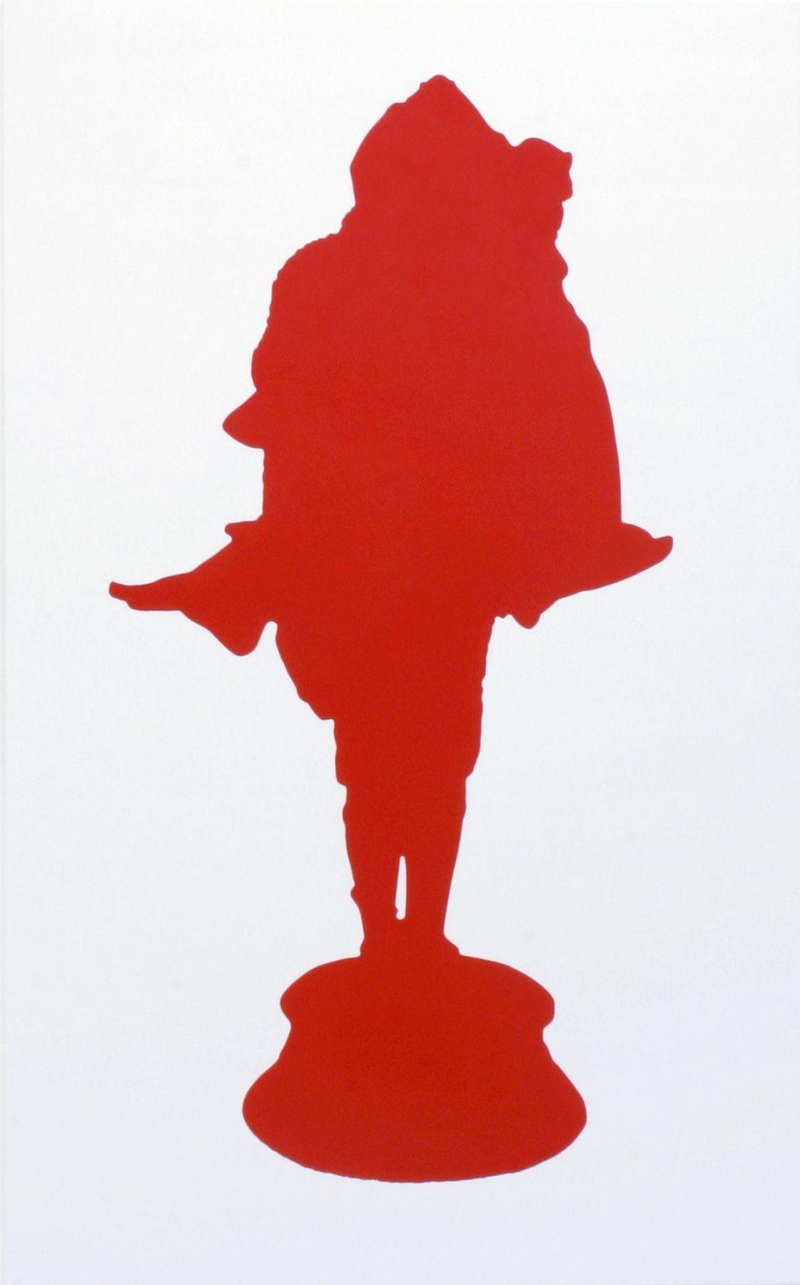 Celuy qui fut Pris IV/IV, 2007, Oil on canvas
