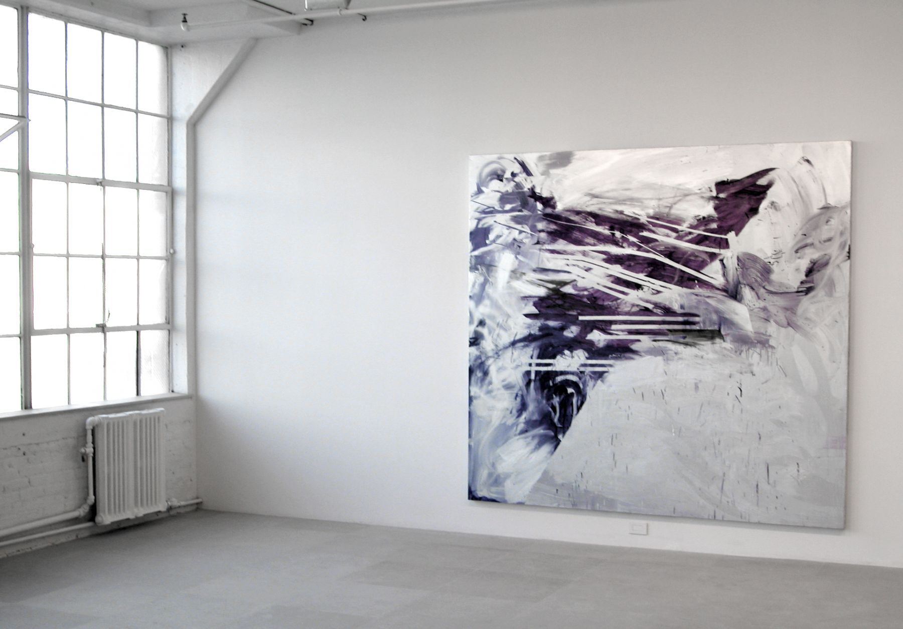 Jacqueline Humphries, Installation view, Greene Naftali, New York, 2006