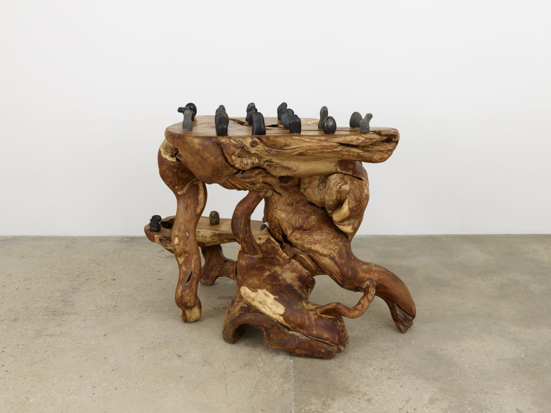 Haegue Yang, Rooted Stones on Parallel Dimensions, 2016
