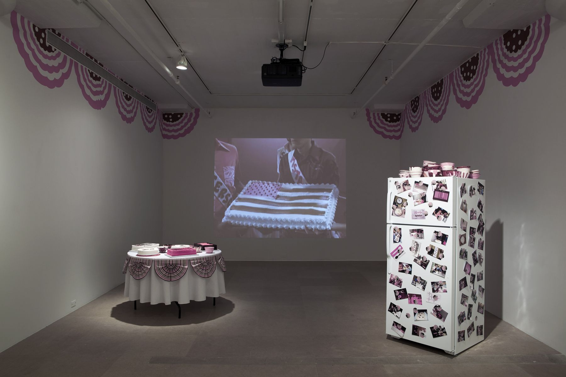 David Robbins, Ice Cream Social, 1993-2011, mixed media installation, dimensions variable