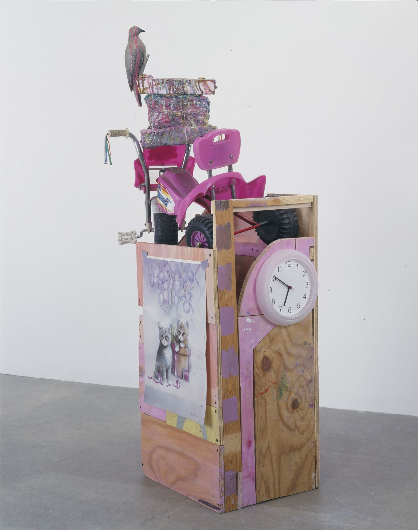 General Challenge (Bird), 2004,  mixed media sculpture,  62 x 19 x 26 inches