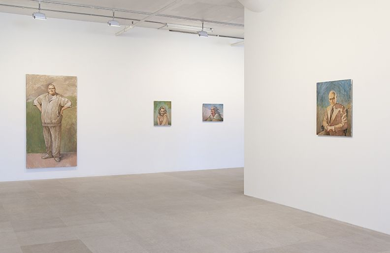 Michael Fullerton, Installation view, Meaning Inc., Greene Naftali, New York, 2014