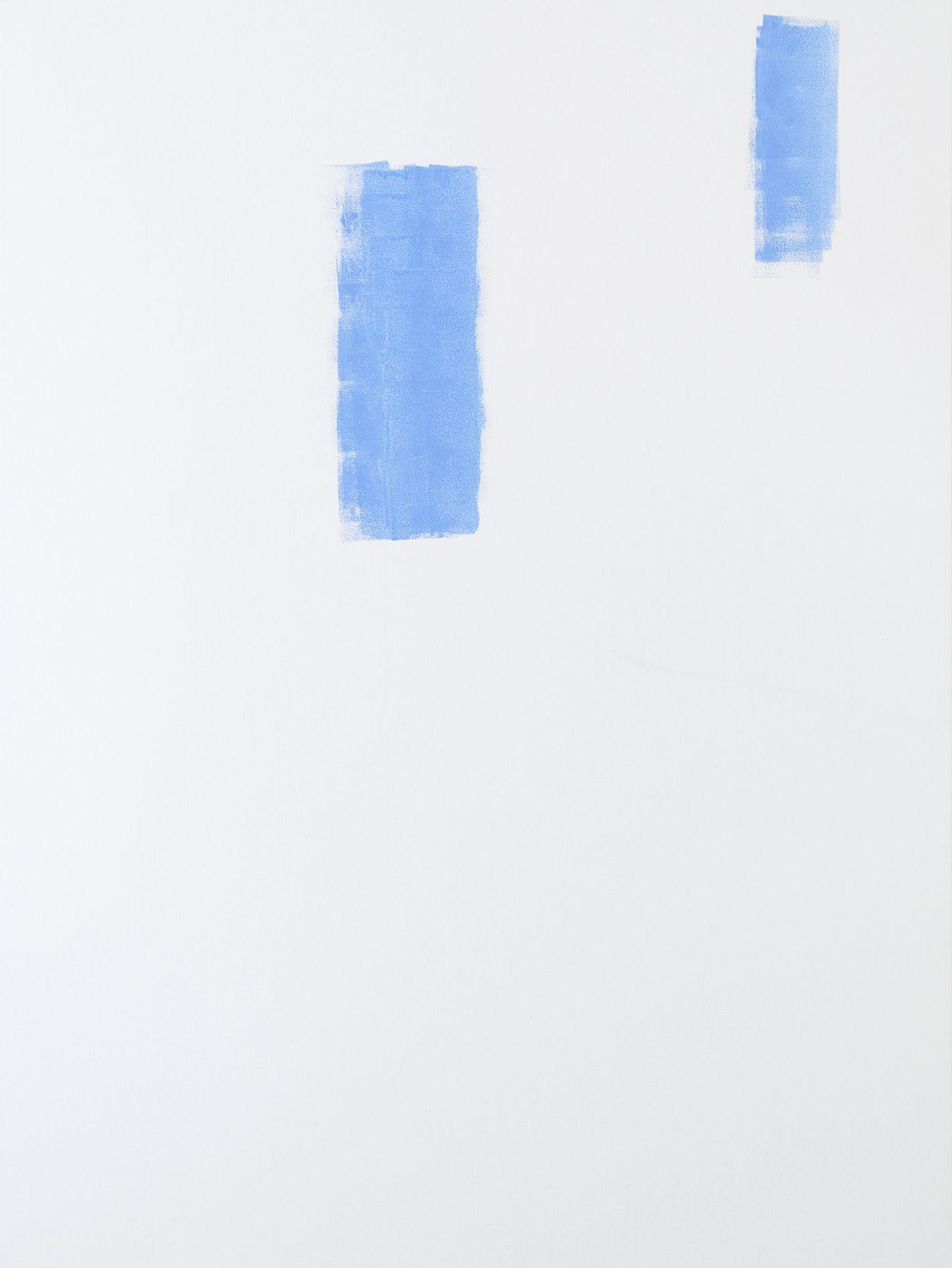 Michael Krebber MK.302, 2015 Acrylic on canvas  78 3/4 x 59 1/8 inches (200 x 150.2 cm)