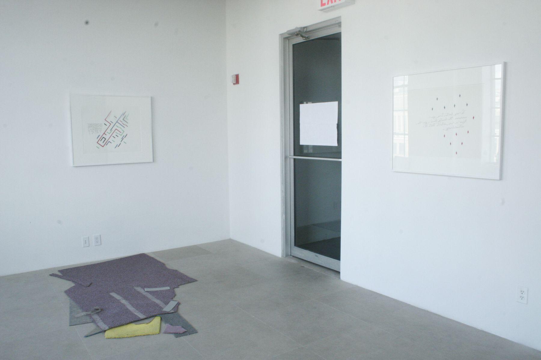 Installation view, Genesis I'm Sorry, Greene Naftali, New York, 2007