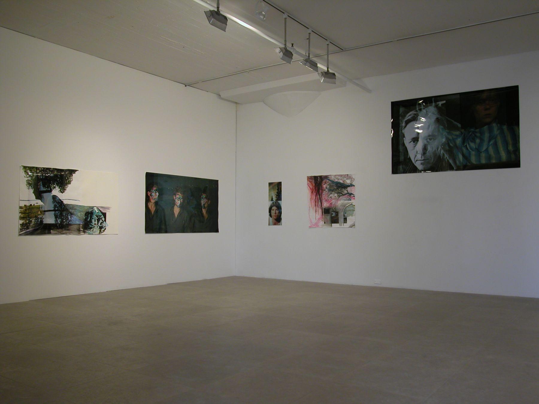 Installation view, Greene Naftali, New York, 2004