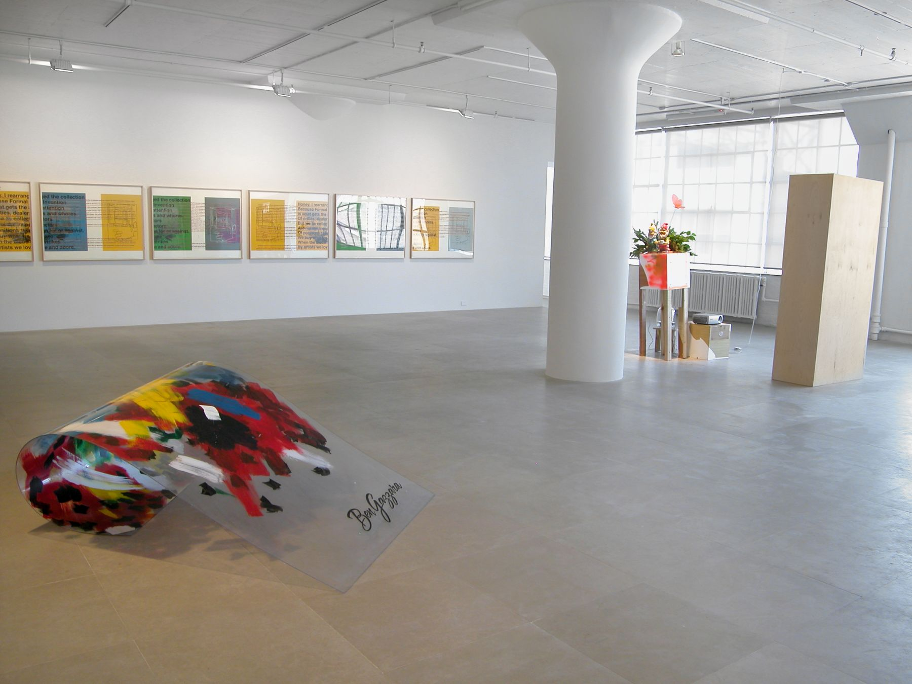 Installation view, Payday, Greene Naftali, New York, 2008