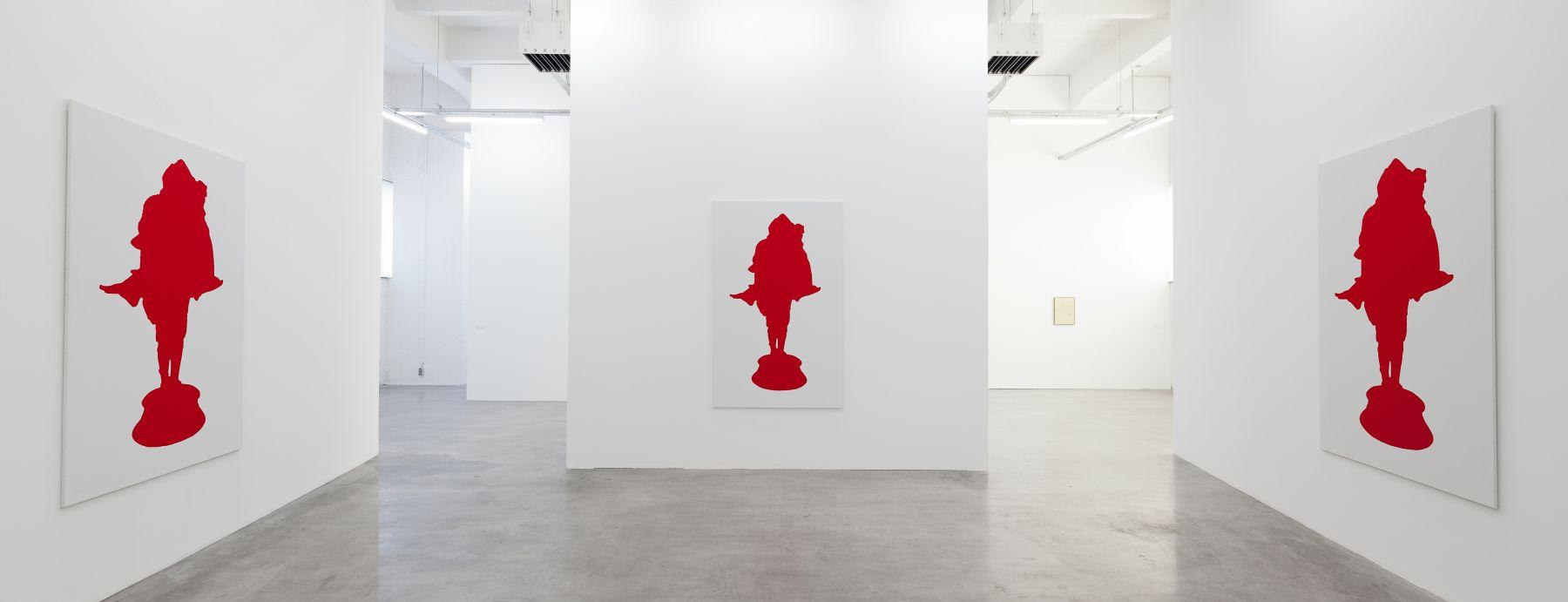 Installation view, Apperception, WIELS, Contemporary Art Center, Brussels, 2012