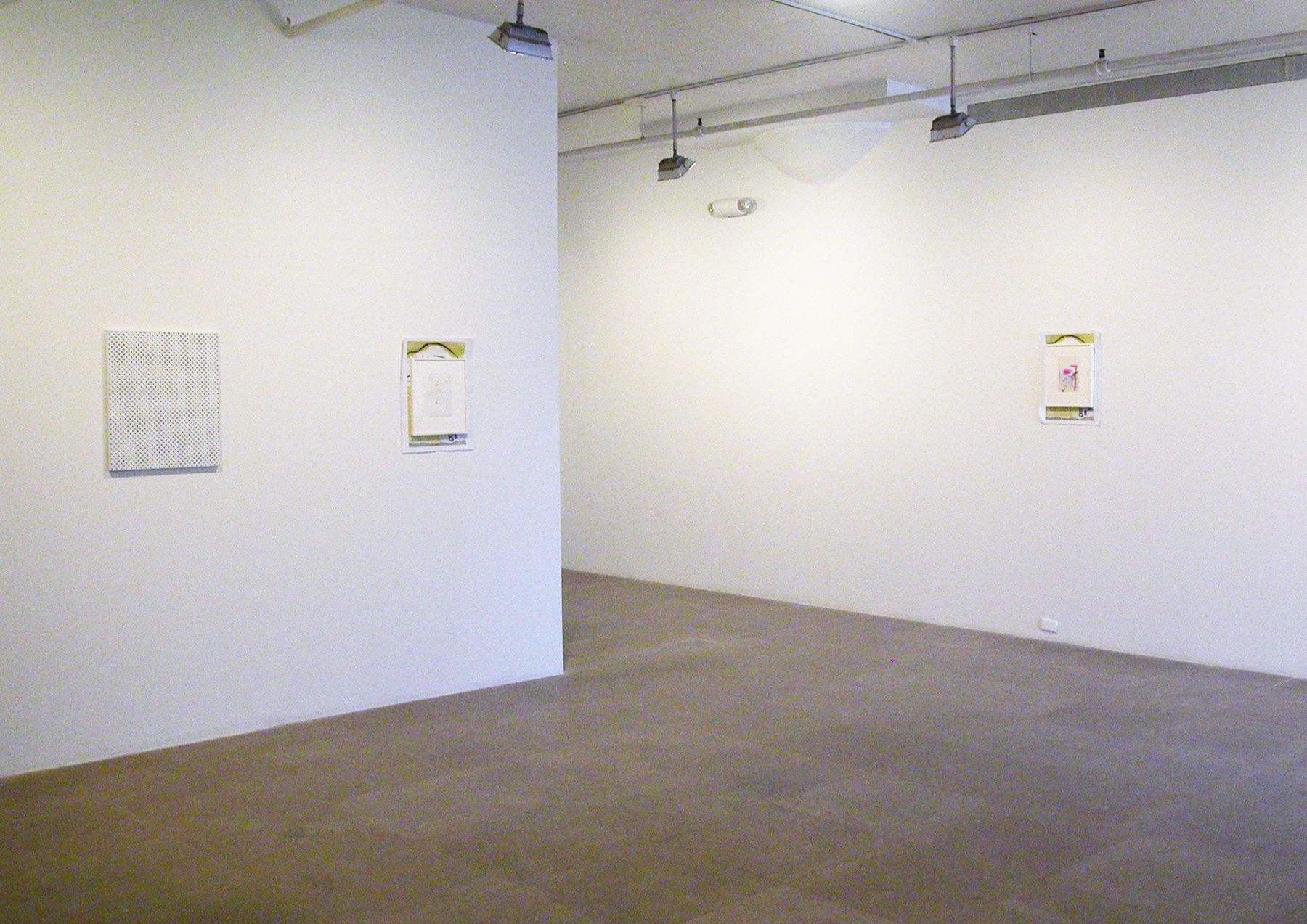 Installation view, Connecting Sugar with Hollywood, Greene Naftali, New York, 2006