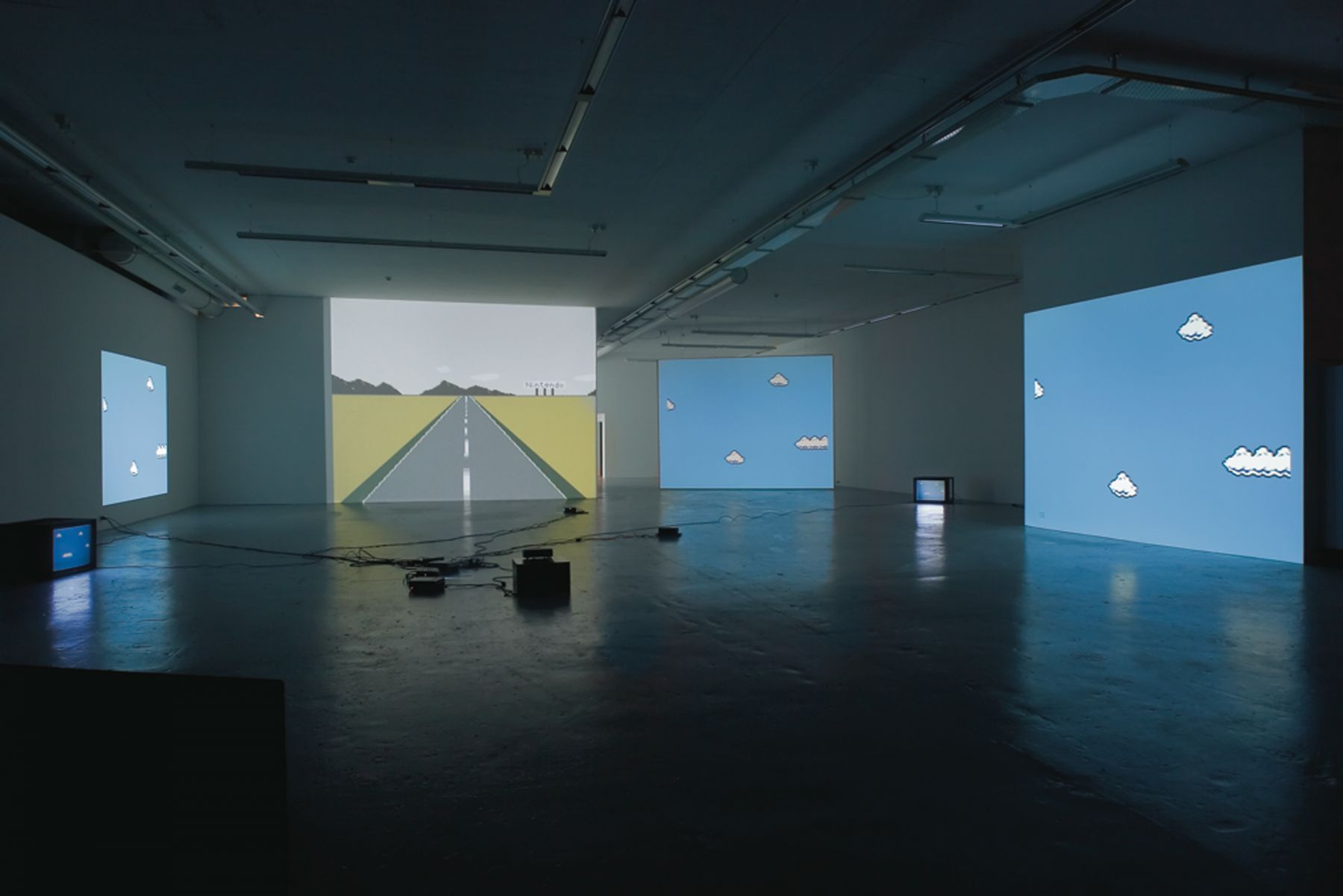 Installation view,Nerdzone Version 1, Migros Museum fur Gegenwartskunst, Zurich, 2005