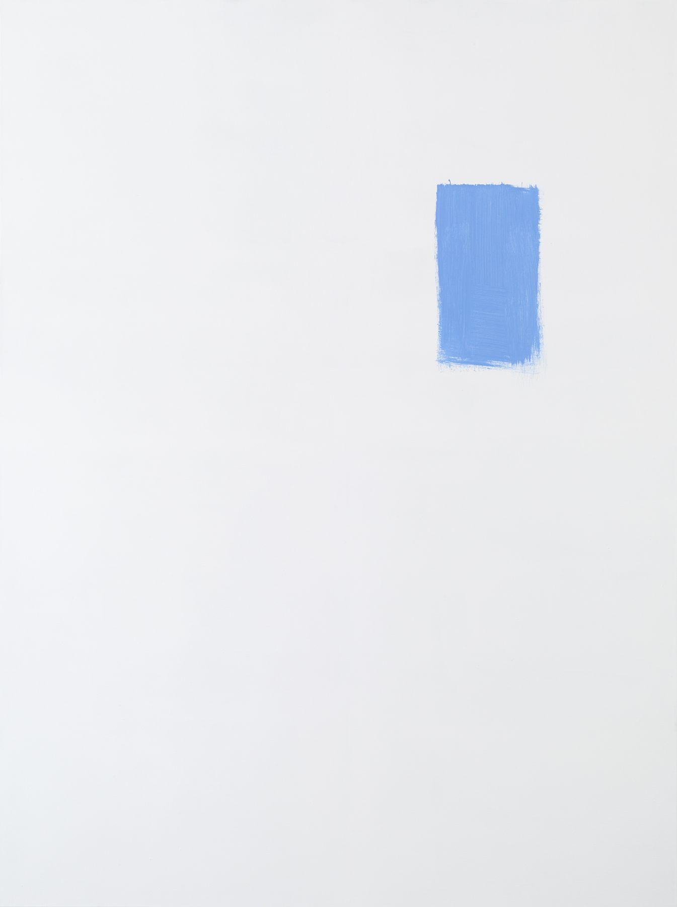 Michael Krebber MK.298, 2015 Acrylic on canvas  78 3/4 x 59 1/8 inches (200 x 150.2 cm)