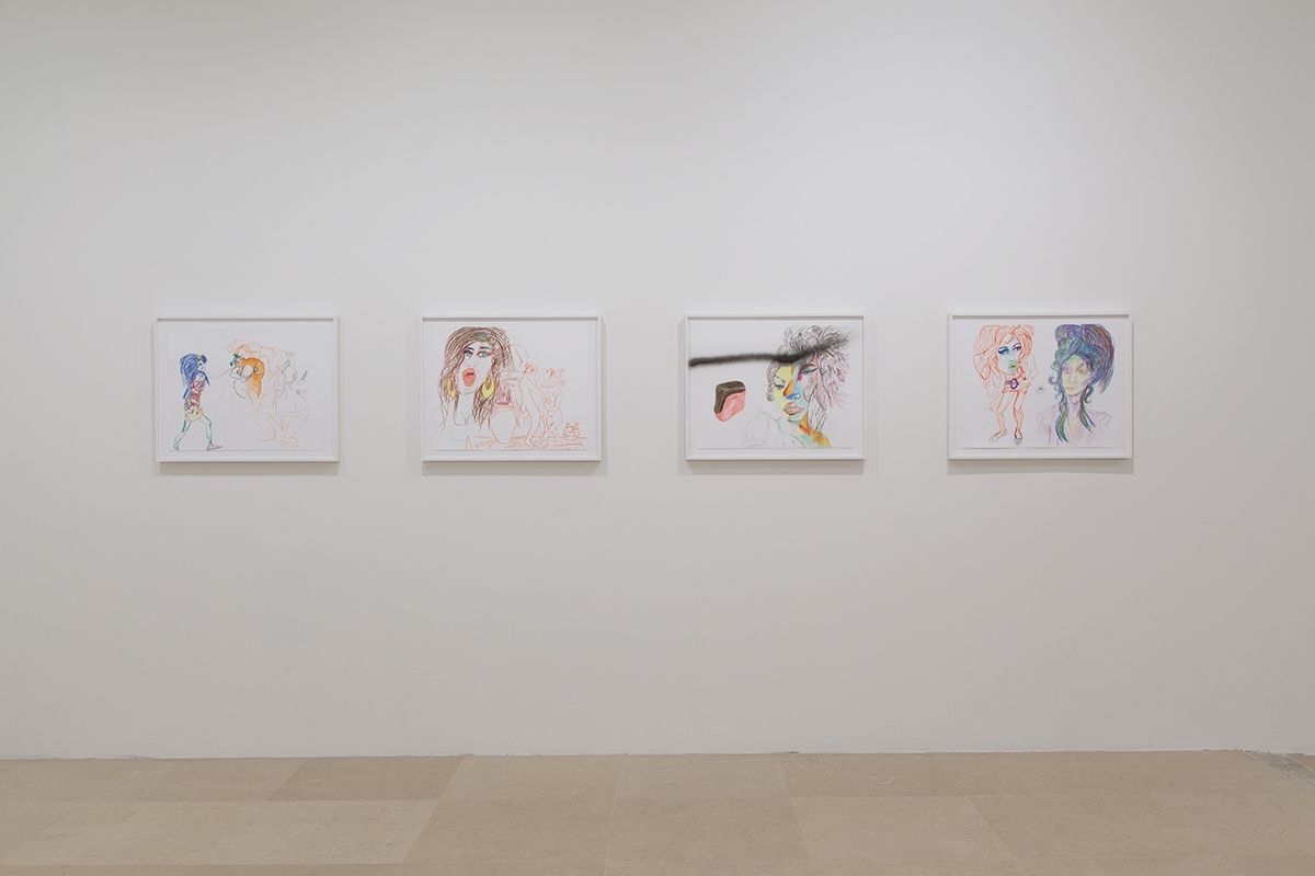 Rachel Harrison, Installation view, More News: A Situation, Greene Naftali, New York, 2016
