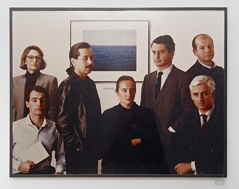 Philippe Thomas, Hommage à Philippe Thomas. Autoportrait en groupe, 1985