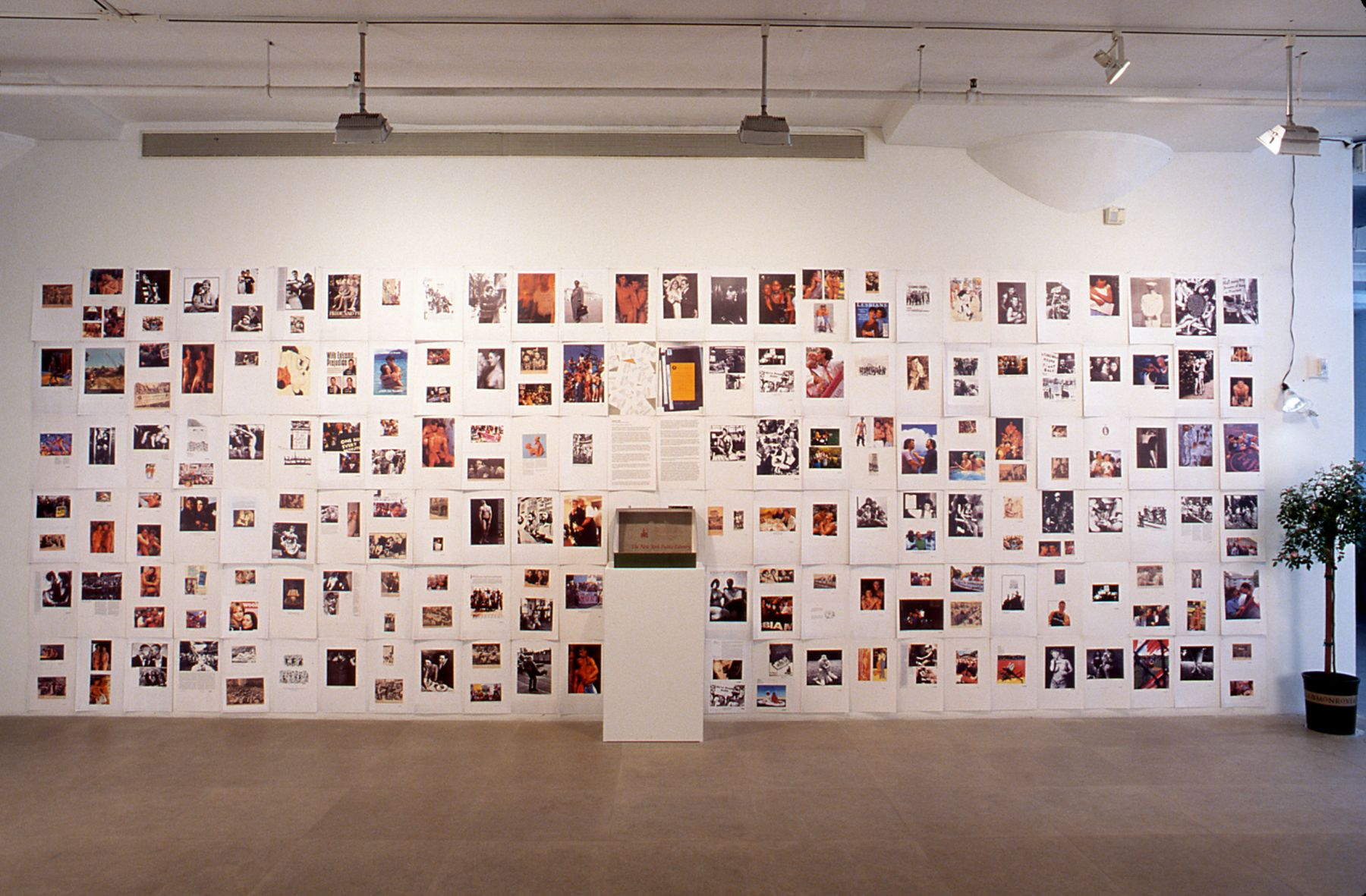 Christian Holstad, We'll Make Great Mud, 2002/2003, Installation view, 234 prints on cardstock, 11 x 17 inches each