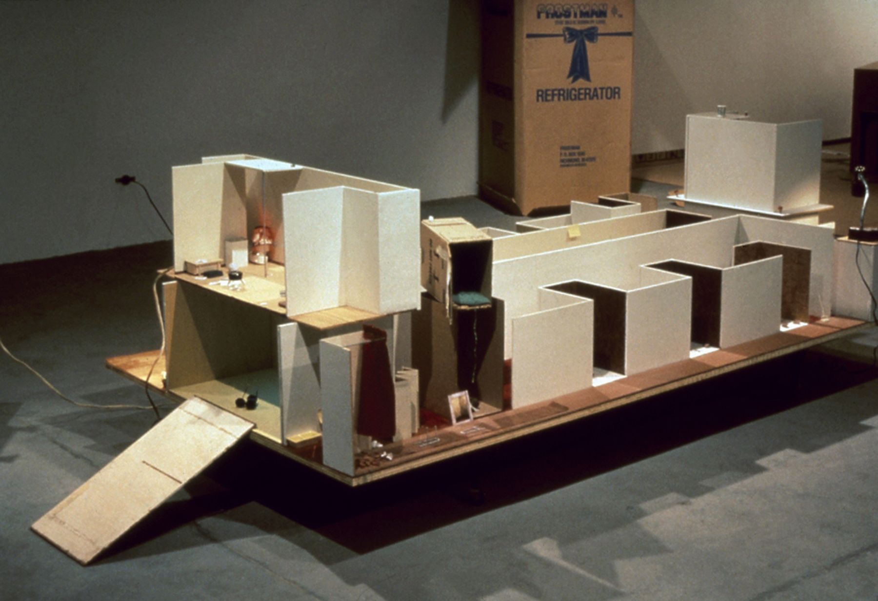 Julie Becker, Researchers, Residents, a Place to Rest, 1996