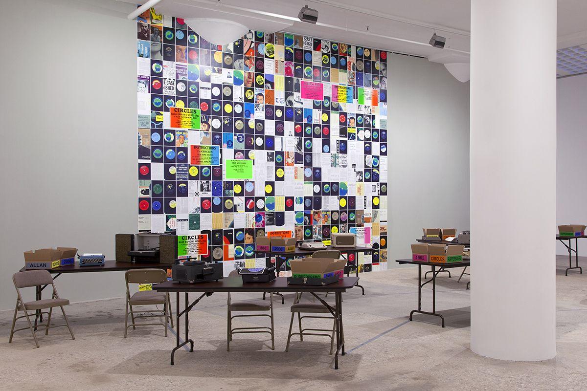 Installation view, Greene Naftali, New York, 2014