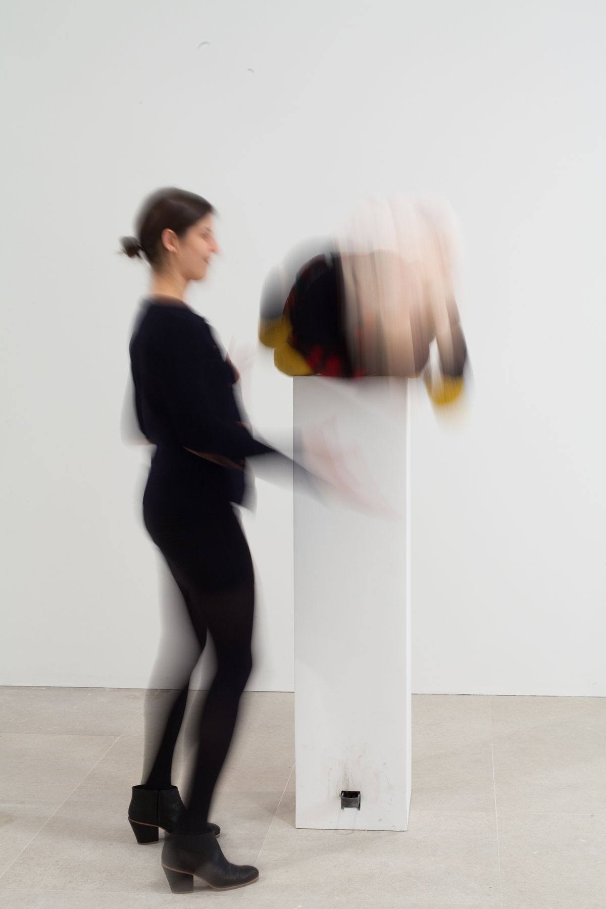 Gelitin, Emma, 2012 ,Mixed media, 70 x 19 1/2 x 16 1/2 inches