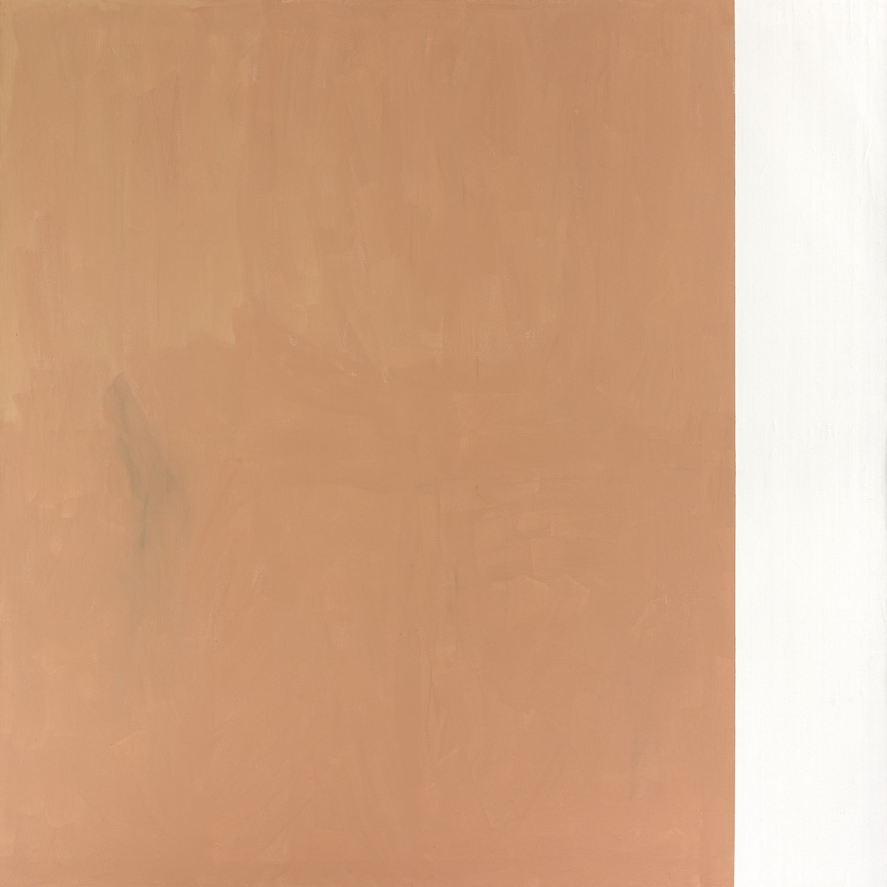 Untitled, 1991, Acrylic on canvas, 114 1/8 x 114 1/8 inches (290 x 290 cm)
