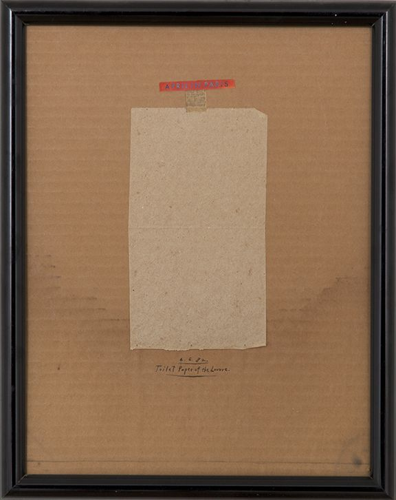 Candy Jernigan April in Paris, Toilet Paper of the Louvre, 1982