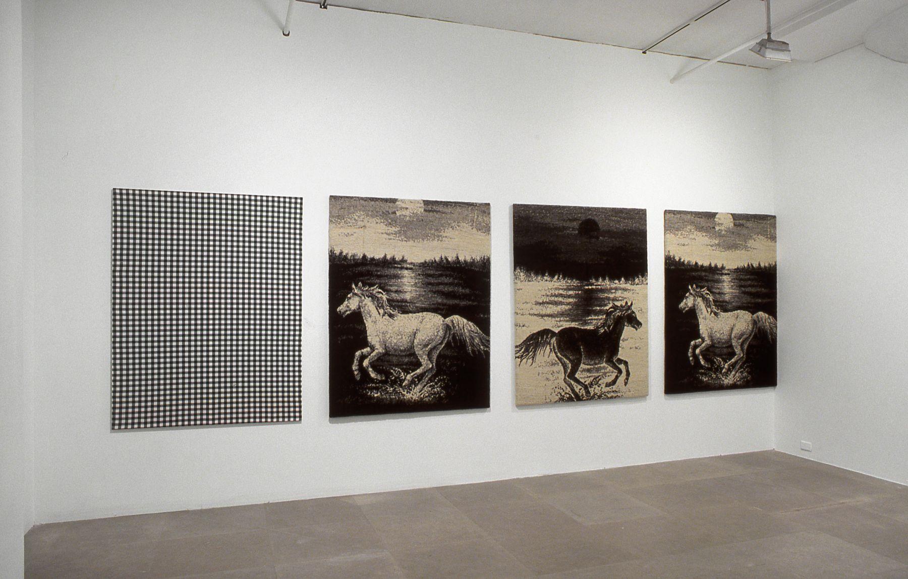 Michael Krebber, Flaggs (Against Nature), 2003