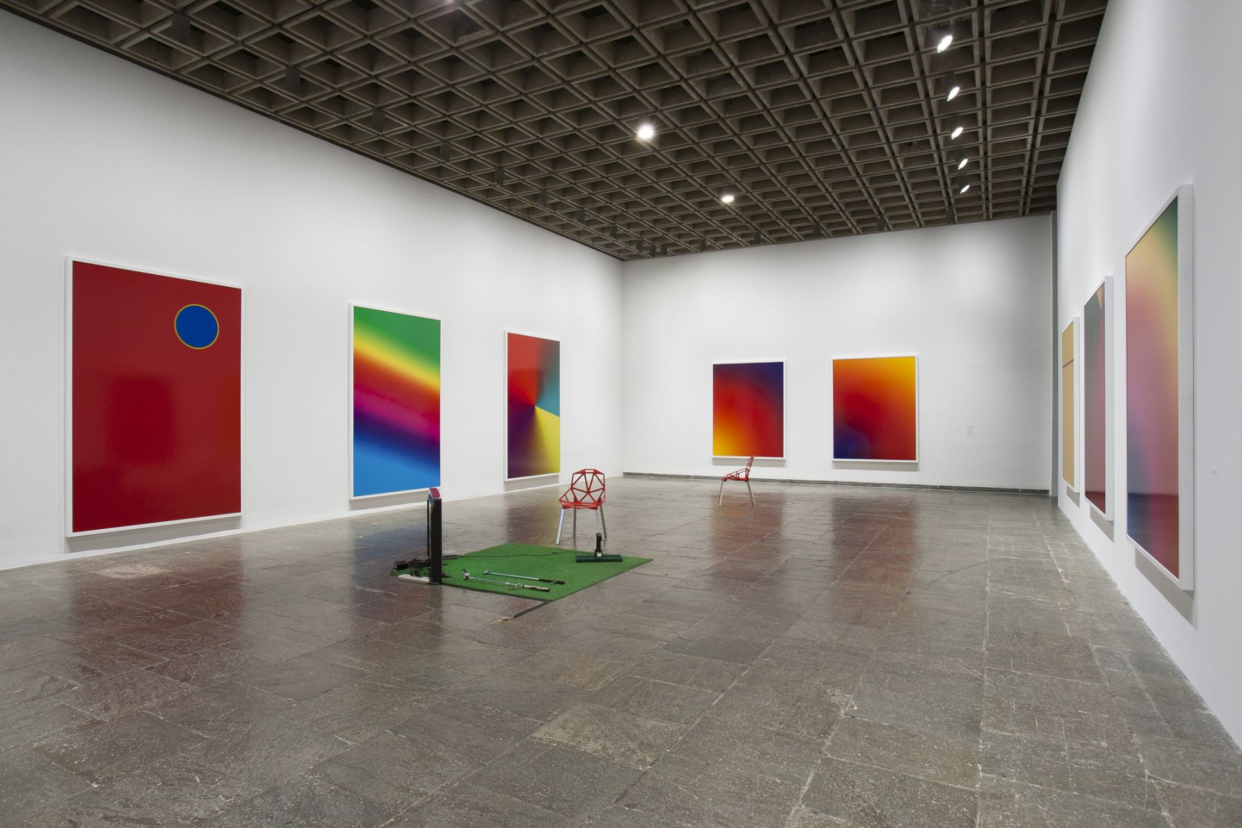 Cory Arcangel, Installation view,Pro Tools, Whitney Museum of American Art, New York, 2011
