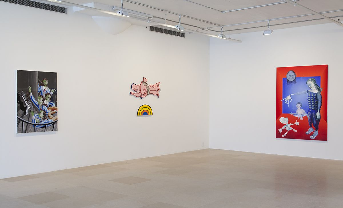 Installation view, Painting: Now and Forever, Part III, Greene Naftali, New York, 2018
