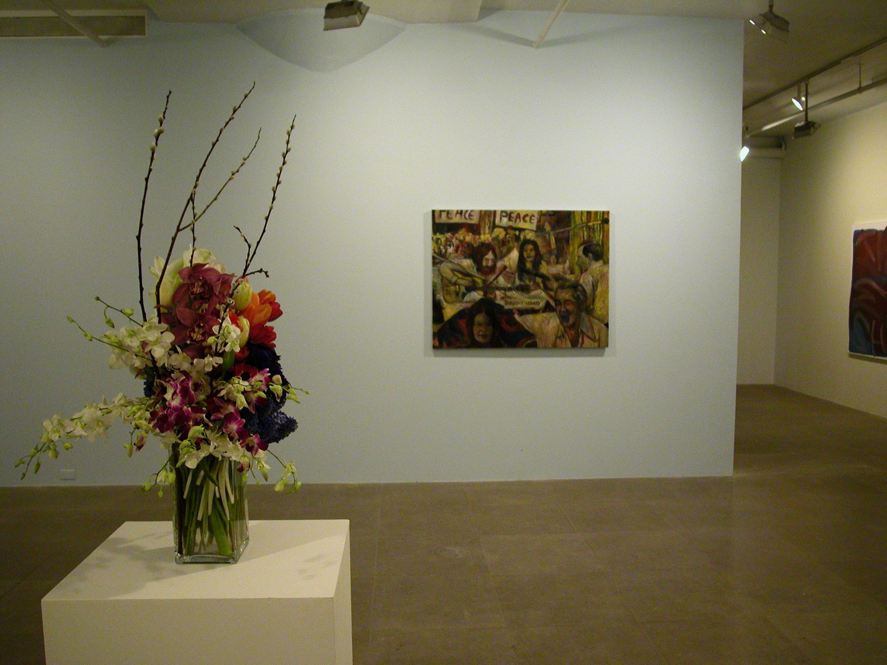 Installation view, Salon, Greene Naftali, New York, 2006
