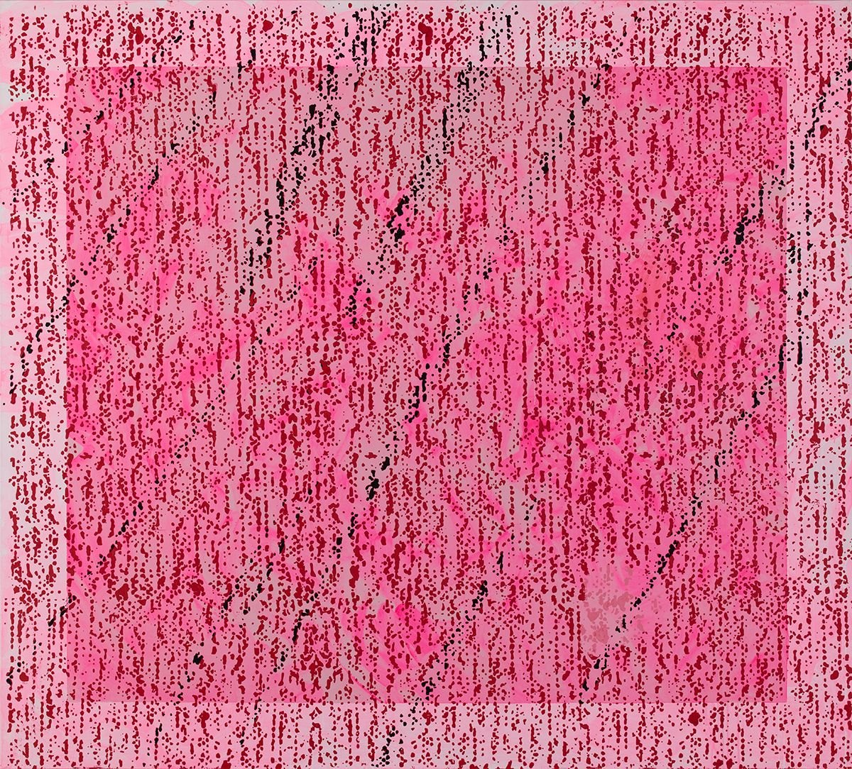 â–¢ , 2015, Oil and enamel on linen