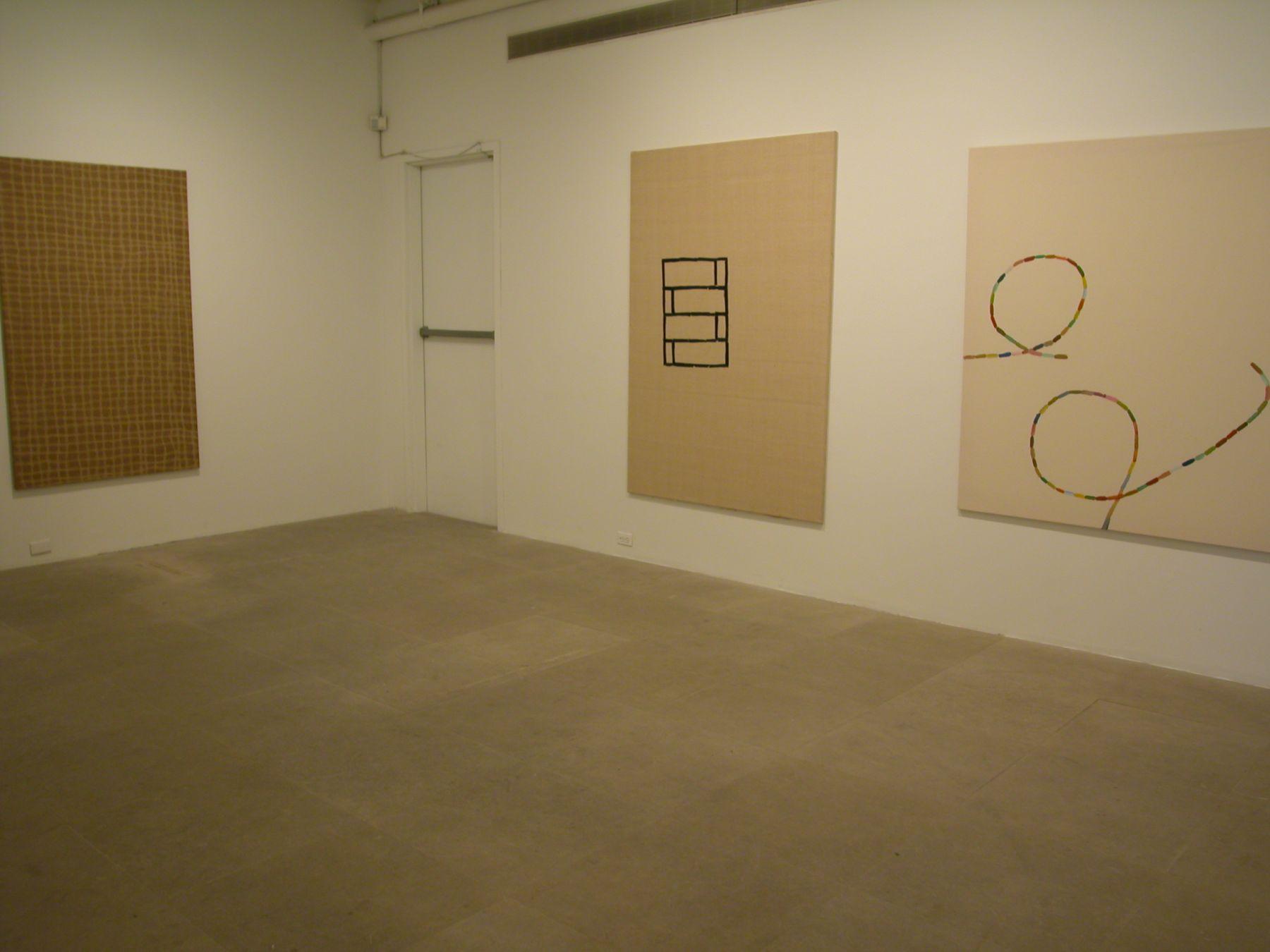 Installation view, Greene Naftali, New York, 2003