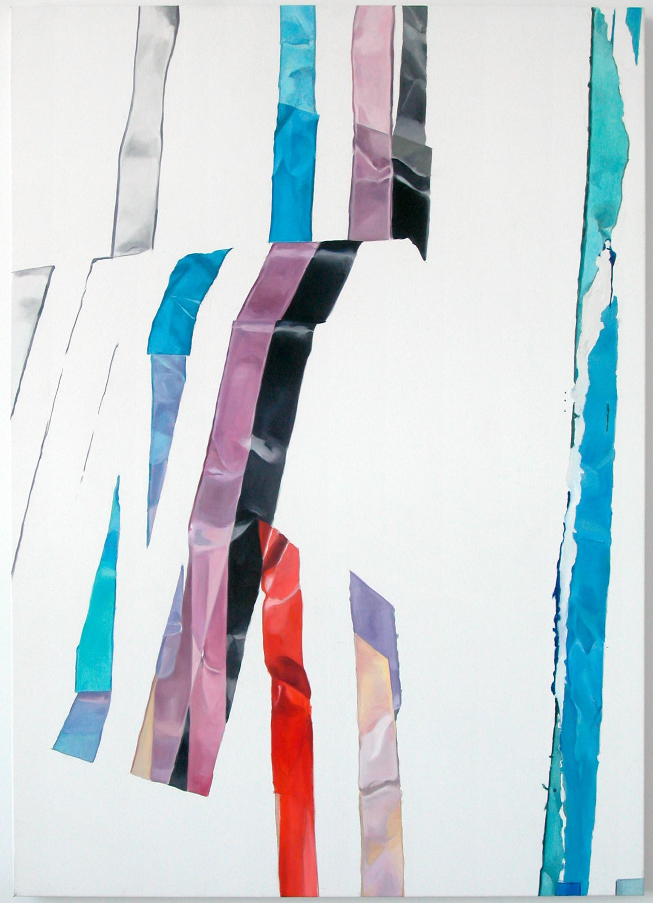 Alex Hubbard, Untitled, 2008, Oil on canvas, 62 x 45 inches