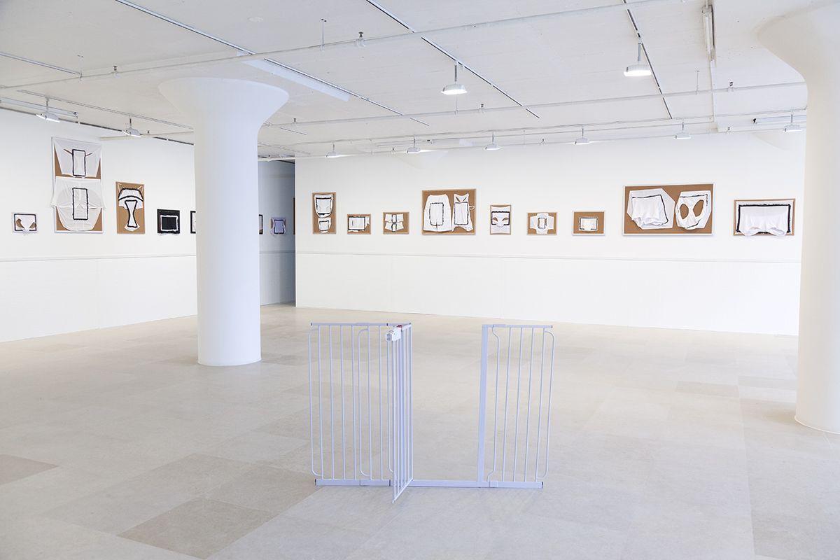 Tony Conrad, Installation view, Undone, Greene Naftali, New York, 2016